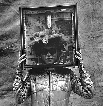 Rogerio Reis, Untitled (Man with Head in Frame)