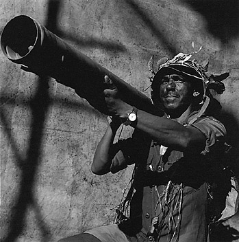 Rogerio Reis, Soldier with Bazooka