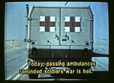 Barbara Alper, Today Passing Ambulances...